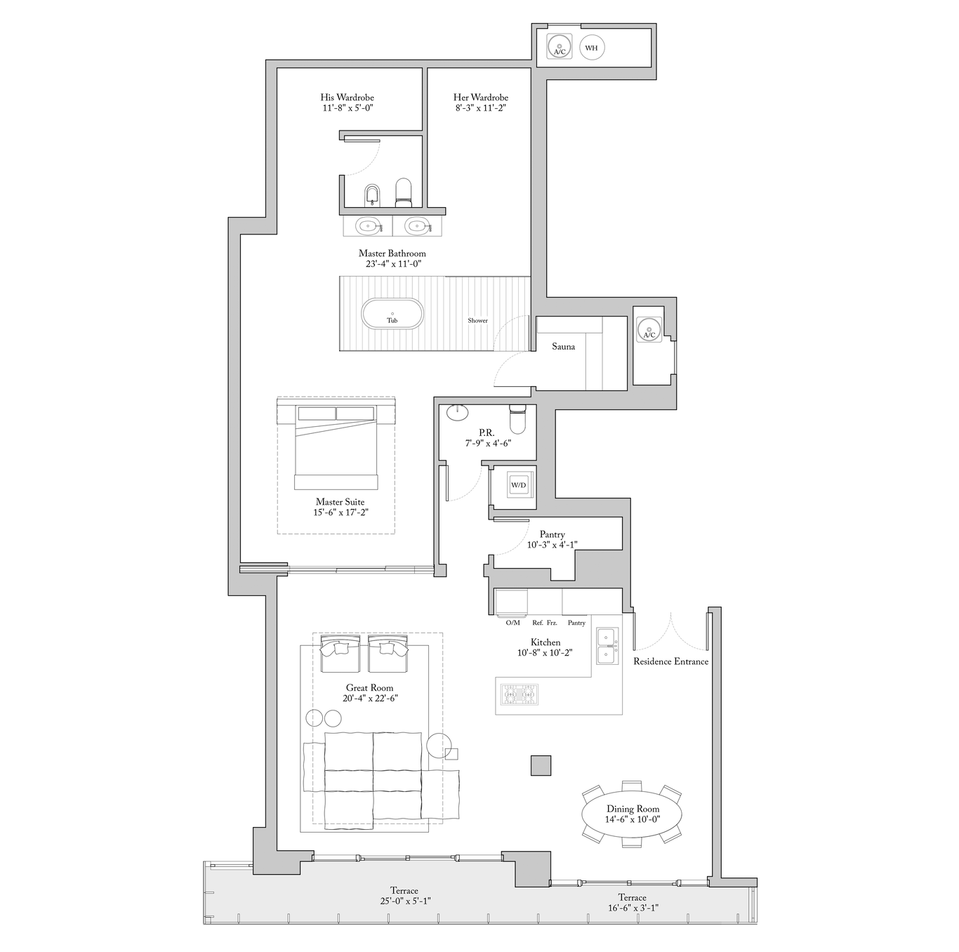 Floor Plans | New Homes In Miami At The Ritz Carlton Residences, Miami Beach