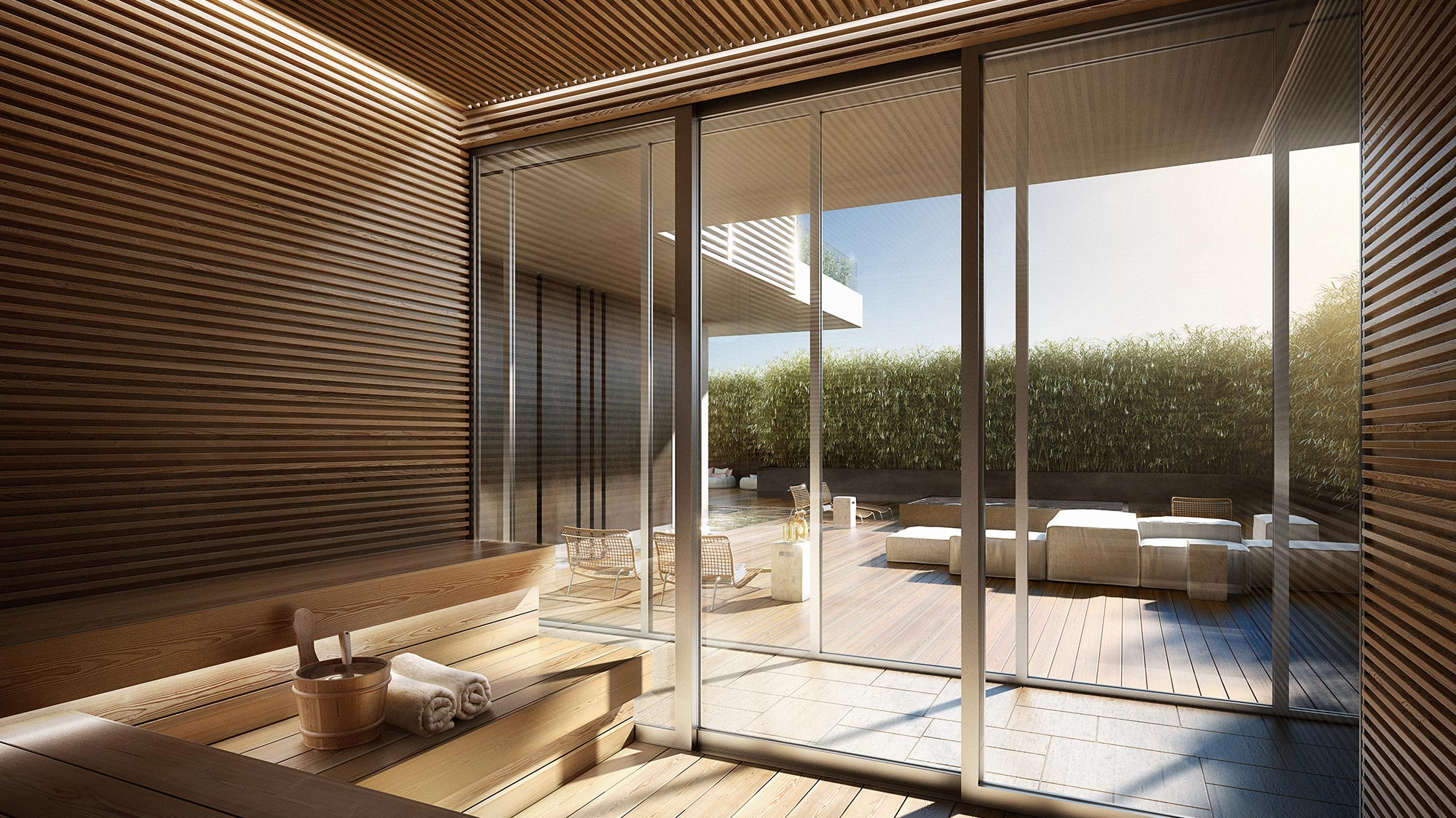 Tranquil Spa at the Miami luxury condos of The Ritz-Carlton Residences, Miami Beach