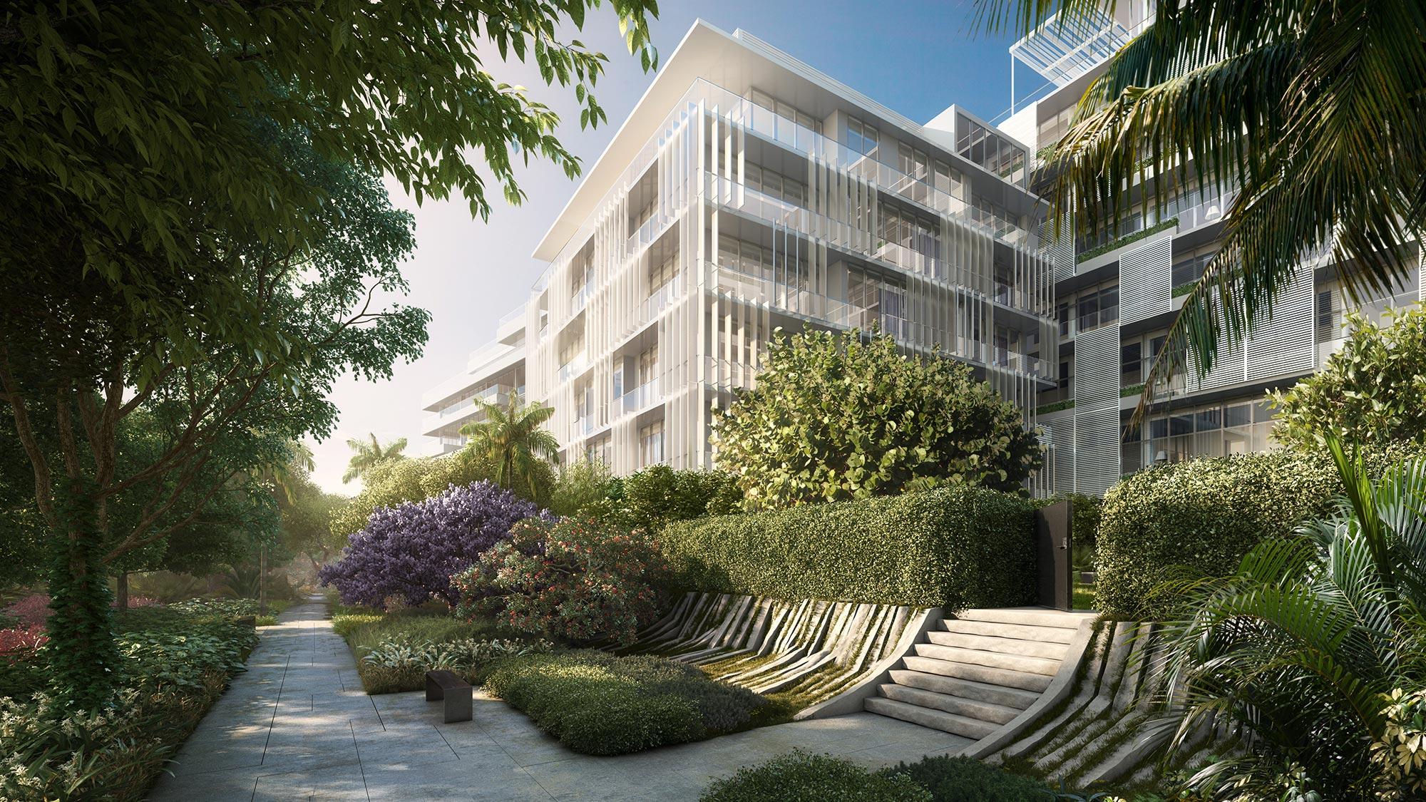 The Ritz-Carlton Residences Miami Beach Meditation Garden