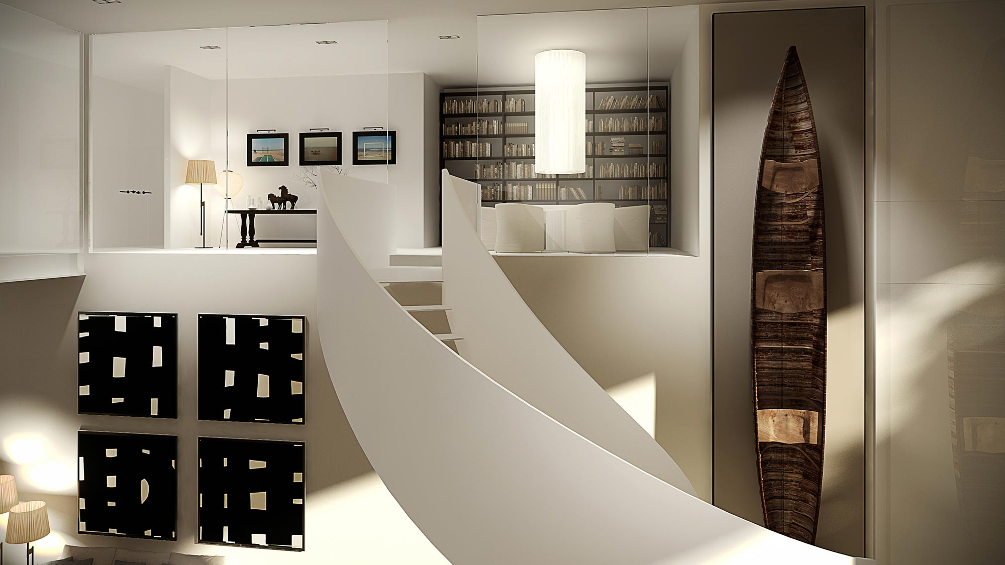 Miami Luxury condos at The Ritz-Carlton Residences, Miami Beach Library