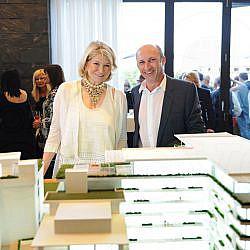 Martha Stewart & Ricardo Dunin
