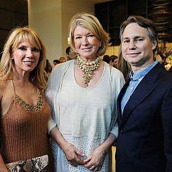Ramona Singer, Martha Stewart, & Jason Binn