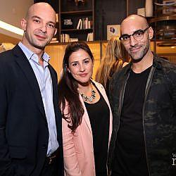 Farris Bukhari, Carine Chehab, & Edison Lozada