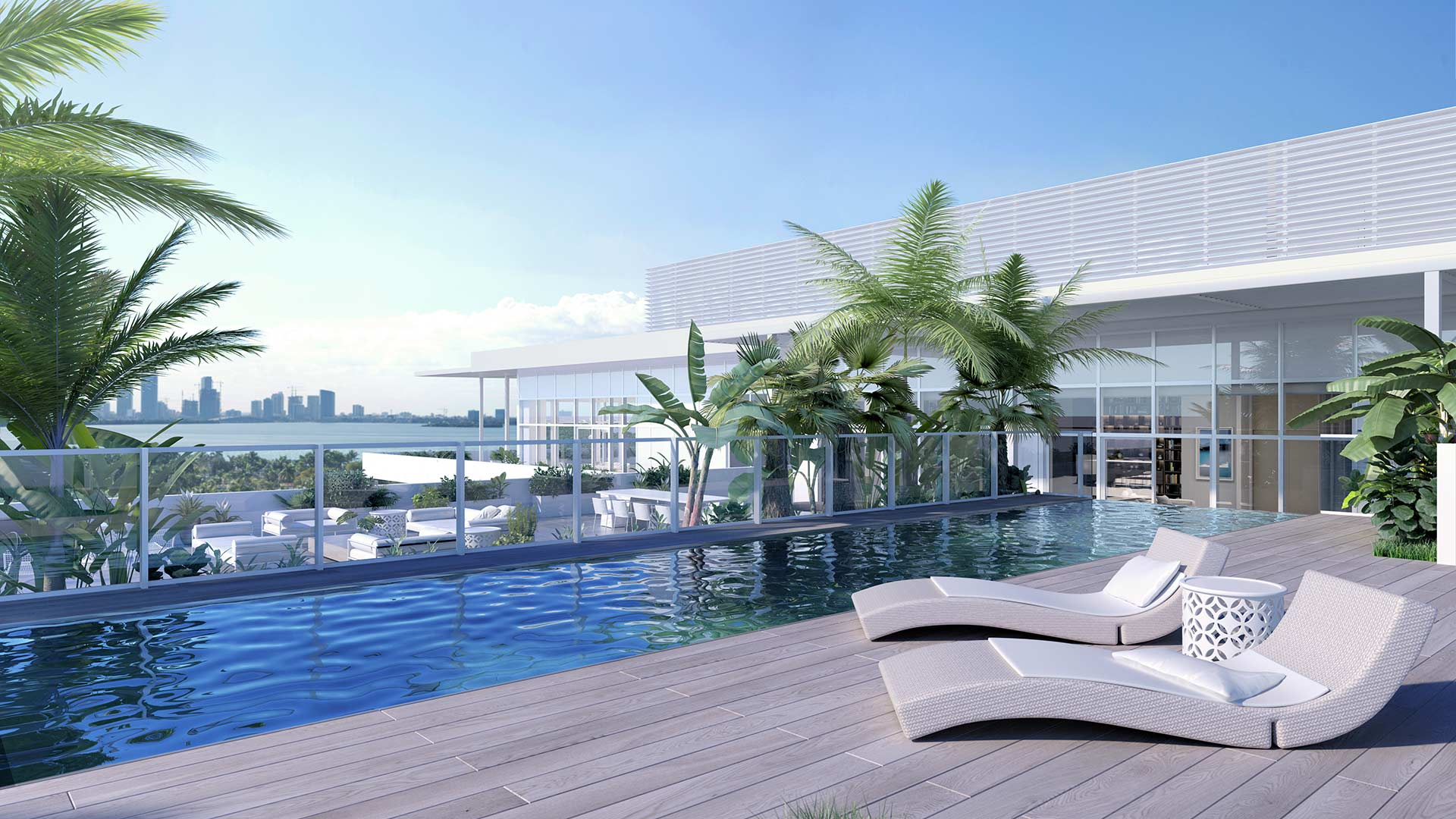 The Ritz-Carlton Residences Miami Beach Penthouse 4 Pool