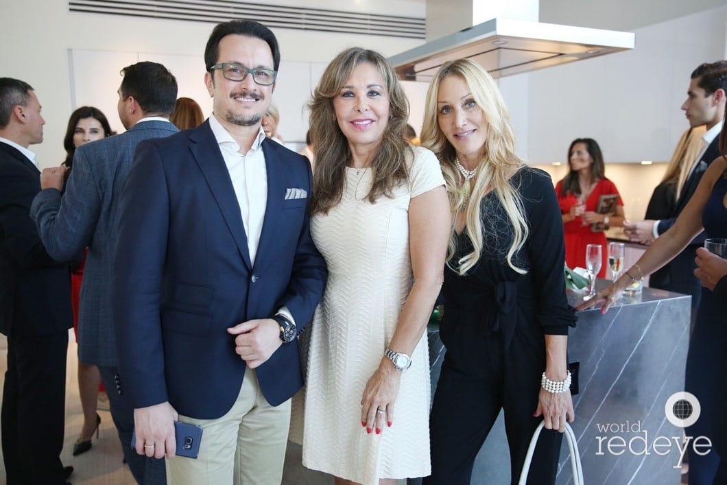 Ali Boutaleb, Gloria Torres, Wendy Paskow