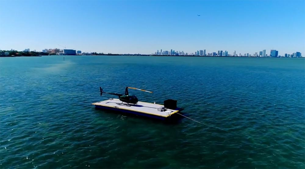 Ritz-Carlton Residences, Miami Beach Helicopter Service