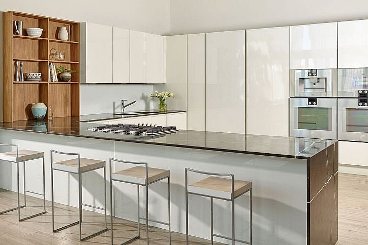 Detalles interiores diseñados personalmente por Piero Lissoni